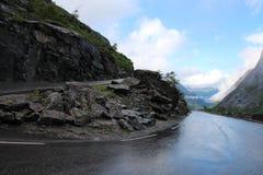 Trollstigen (trolladder) Νορβηγία Στοκ φωτογραφία με δικαίωμα ελεύθερης χρήσης
