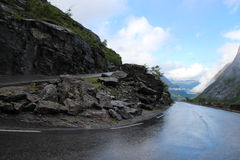 Trollstigen (trolladder) Norway Royalty Free Stock Photography