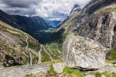 Trollstigen Stock Images