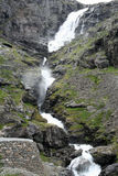 Trollstigen Waterfall Stock Image