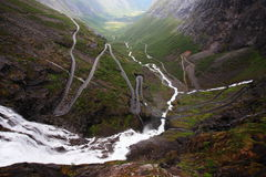 Trollstigen Royalty Free Stock Photography