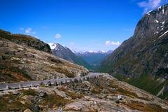 Trollstigeveien Fotografering för Bildbyråer