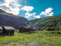 Trollstigveien em Noruega imagens de stock