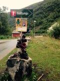 Trolltunga Fotografía de archivo libre de regalías