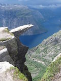 Trolltunga Royalty Free Stock Photos