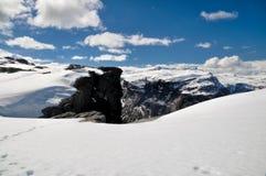 Trolltunga, Noruega Foto de Stock