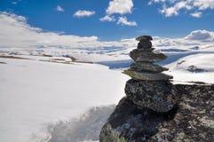 Trolltunga, Norvegia Immagine Stock Libera da Diritti