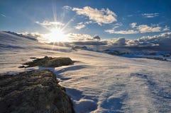 Trolltunga, Norvegia Immagine Stock