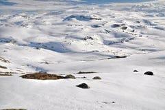 Trolltunga, Norvegia Fotografia Stock