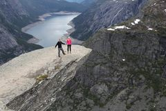 Trolltunga, Norway Royalty Free Stock Photo