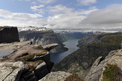 Trolltunga Royalty Free Stock Photo