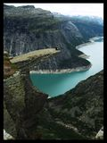 Trolltunga. In Norway. Its worth to be there Stock Images