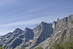 Trollveggen Royalty Free Stock Photography