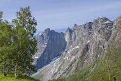 Trollveggen Stock Photo