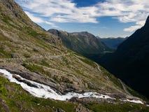 Trollveggen valley in Romsdalen Stock Images