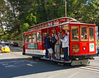 Trolly Ride in San Francisco Royalty Free Stock Photo