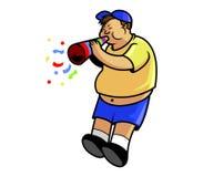 Tromba del colpo di Fatboy illustrazione di stock