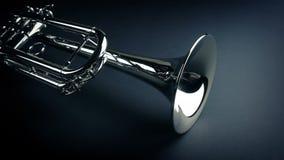 Tromba rivelatrice sotto velluto stock footage