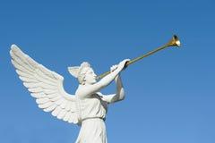 Trombettista di angelo Immagini Stock Libere da Diritti