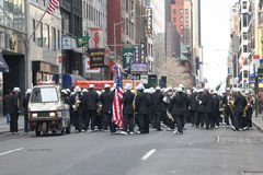 Trombettisti di parata di giorno di Patricks del san Fotografia Stock