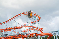 Trombi roller coaster Royalty Free Stock Photography