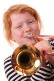 trombone игрока Стоковая Фотография