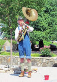 trombone игрока Стоковые Изображения