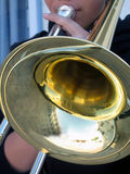 Trombone Foto de Stock Royalty Free