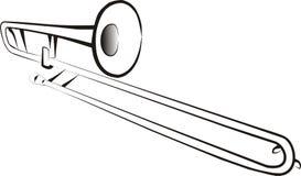 Trombone Stock Image