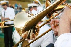 trombone arkivfoton