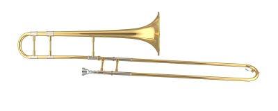 Trombone Foto de Stock Royalty Free