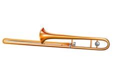 Trombone Royalty-vrije Stock Fotografie