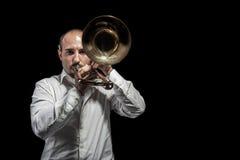 Trombone Images stock