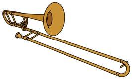 Trombone illustration de vecteur