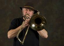 trombone Arkivfoto
