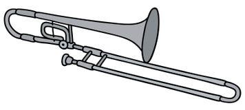 Trombone classique illustration libre de droits