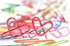 Trombone de forme de coeur Image libre de droits
