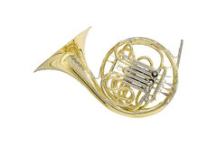 Trombone isolated Stock Image