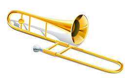 Trombone musical instrument Stock Photography