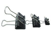 Trombone trois noir Images libres de droits