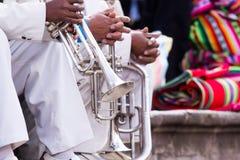 Trombones  Stock Image