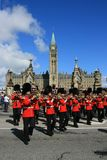 Trombones auf Parlaments-Hügel Stockfotografie