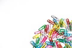 Trombones colorés Image libre de droits