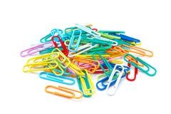 Trombones de couleur Image stock