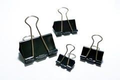 Trombones noirs Image stock