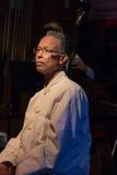 Tromboniste et joueur Clifford Adams de jazz photos libres de droits
