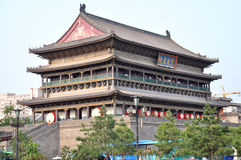 Trommel-Turm von Xi'an lizenzfreies stockfoto