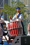 Trommelfestival Seoel Stock Afbeelding