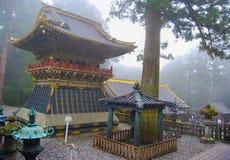Trommeln Sie Turm Koro an Tosho-GU-Schrein in Nikko Lizenzfreie Stockfotos