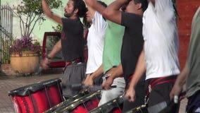 Trommeln, Stoß, Musikinstrumente stock footage